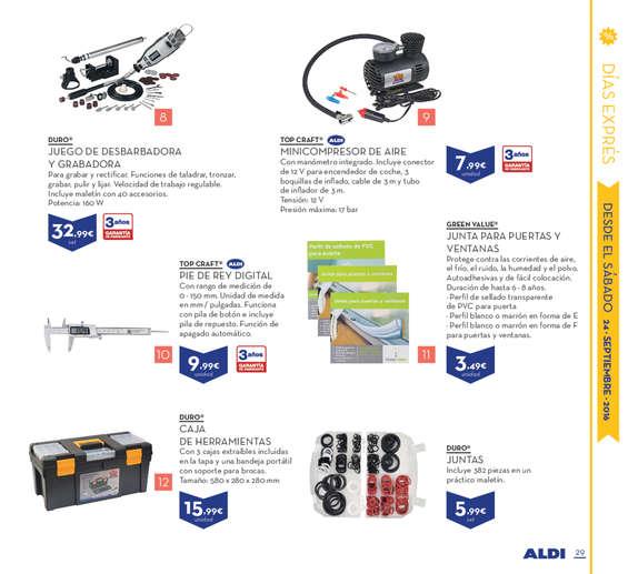 Ofertas de ALDI, Especial Alemania
