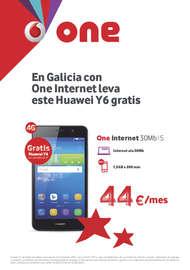 En Galicia con One internet leva este Huawei Y6 gratis