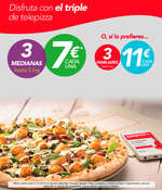 Ofertas de Telepizza, Disfruta con el triple de Telepizza