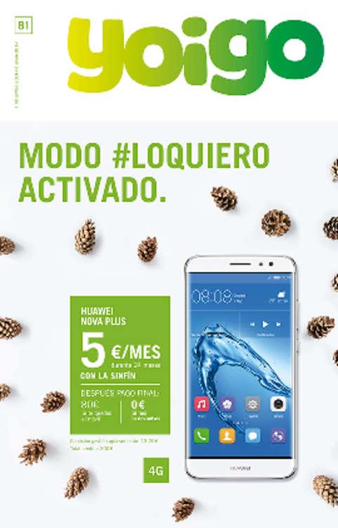 Ofertas de Yoigo, Modo #loquiero activado