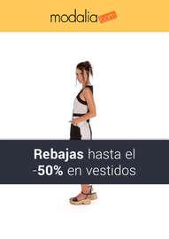 ¡Rebajas hasta el -50% en vestidos!