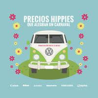 Precios hippies que alegran un carnaval