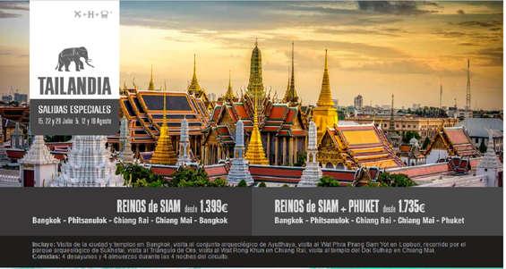 Ofertas de Halcón Viajes, Tailandia Especial