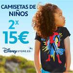 Ofertas de Disney Store, 2x 15€