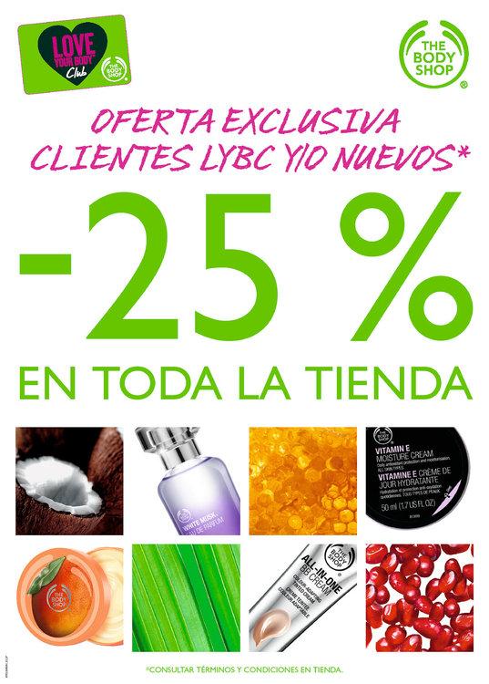 Ofertas de The Body Shop, -25% en toda la tienda