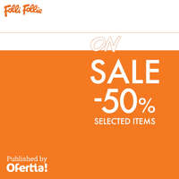 On sale -50% selected items