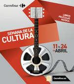 Ofertas de Carrefour, Semana de la cultura