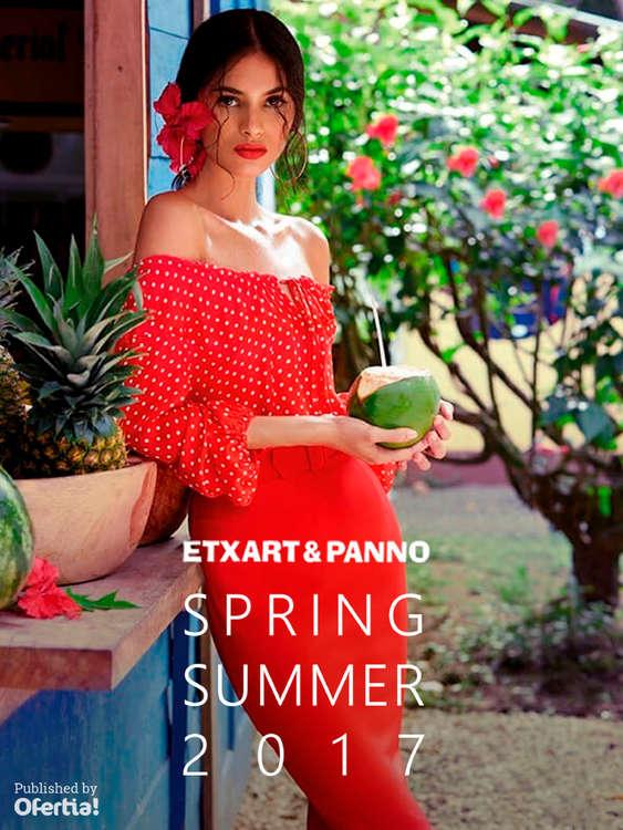 Ofertas de Etxart&Panno, Spring Summer 2017