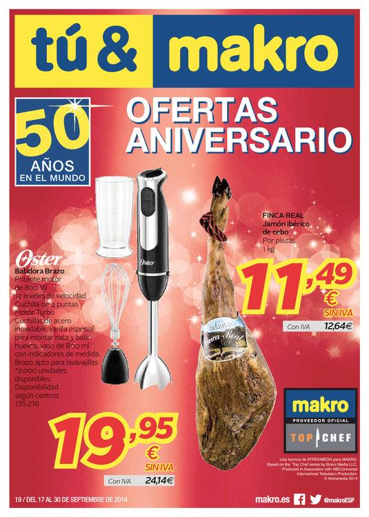 Ofertas de Makro, Ofertas Aniversario
