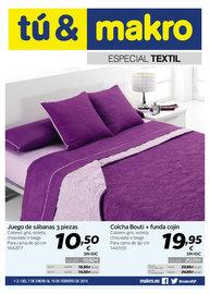 Especial textil