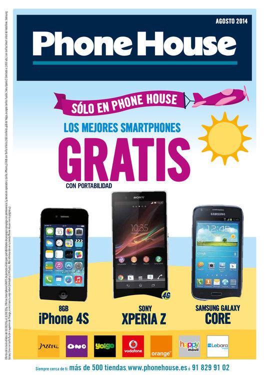 Ofertas de Phone House, Los mejores smartphones gratis