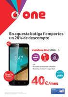 Ofertas de Vodafone, En aquesta botiga t'emportes un 20% de desompte