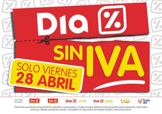 Ofertas de Dia Market, Día Sin IVA - Solo Viernes 28 de Abril