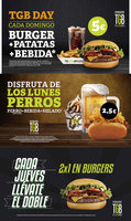 Ofertas de The Good Burger, Promociones especiales