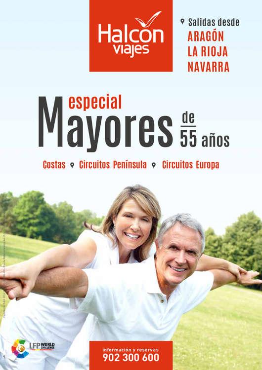 Ofertas de Halcón Viajes, Especial mayores de 55 años