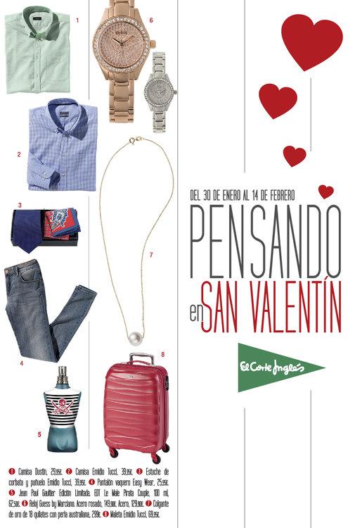 Ofertas de El Corte Inglés, Pensando en San Valentín