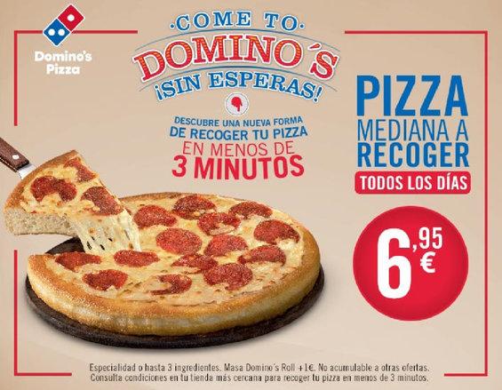 Ofertas de Domino's Pizza, Mediana