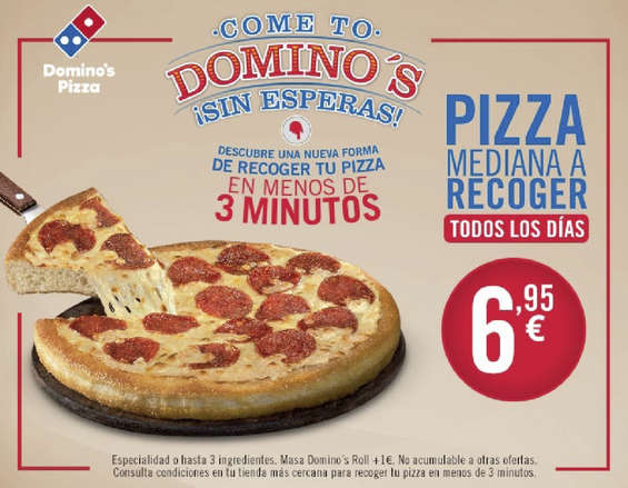 Ofertas de Domino's Pizza, Mediana