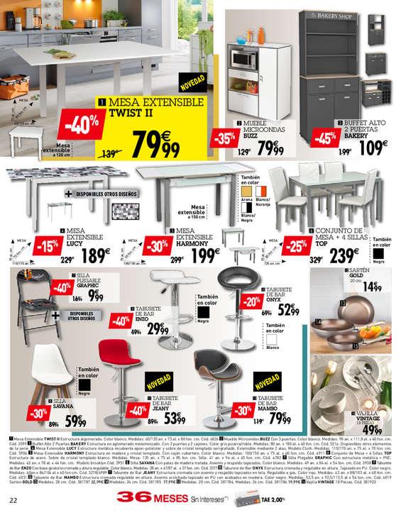 Comprar mesas de cocina barato en madrid ofertia - Ofertas mesas de cocina ...