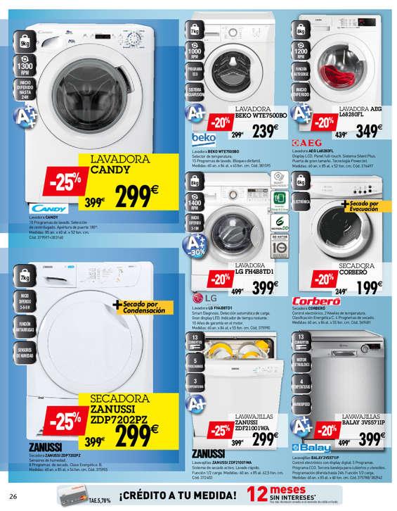 Conforama electrodom sticos ofertas y cat logos - Conforama electro ...