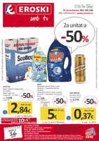 Ofertas de Eroski, 2a unitat a -50%
