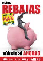 Ofertas de Muebles Max Descuento, Estas REBAJAS súbete al ahorro