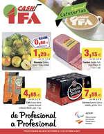 Ofertas de Cash Ifa, Especial cafeterías