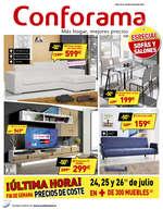 Ofertas de Conforama, Especial sofás y sillones