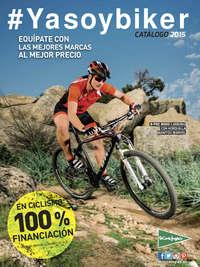 #Ya soy biker. Catálogo 2015