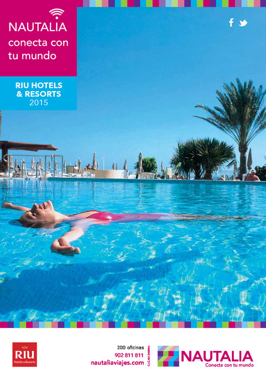 Ofertas de Nautalia, Riu hotels & resorts