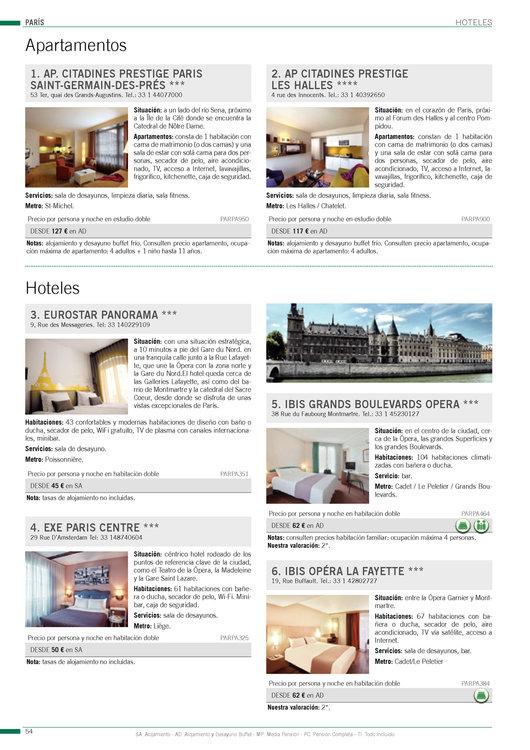 Ofertas de Viajes El Corte Inglés, Europa Verano 2014