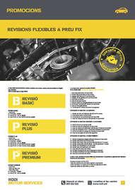 Revisions flexibles a preu fix