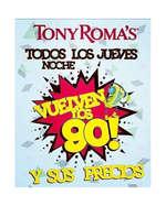 Ofertas de Tony Romas, Vuelven los 90