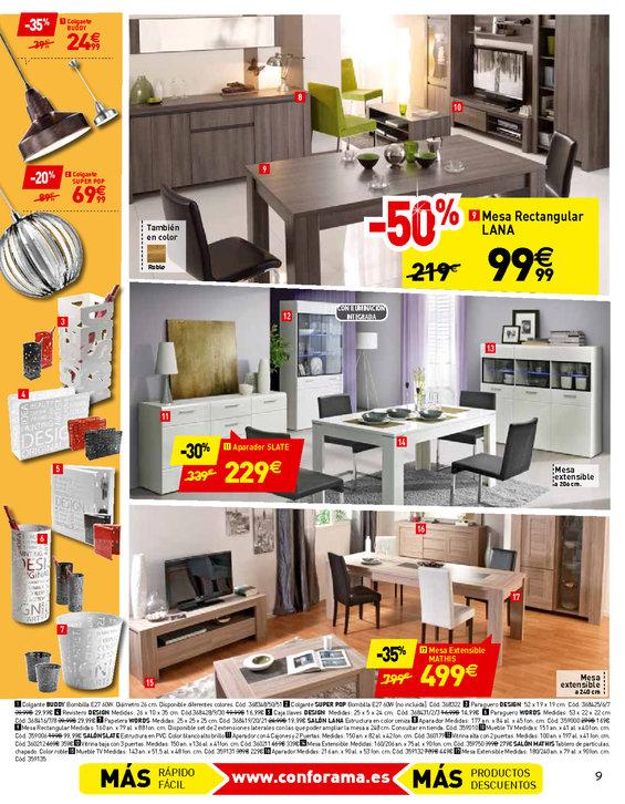 Comprar muebles de comedor en barcelona muebles de for Conforama barcelona