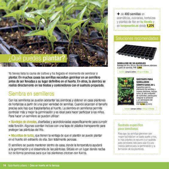 Comprar semillas barato en zaragoza ofertia for Semillas leroy merlin