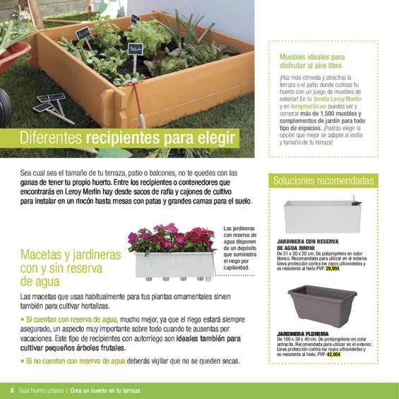 Comprar jardinera barato en madrid ofertia - Huerto urbano leroy ...