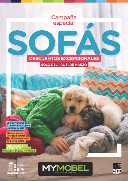 Ofertas de Mymobel, Sofás - Madrid