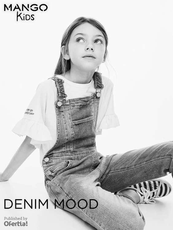 Ofertas de Mango Kids, Denim Mood