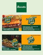 Ofertas de Bocatta, Promociones agosto