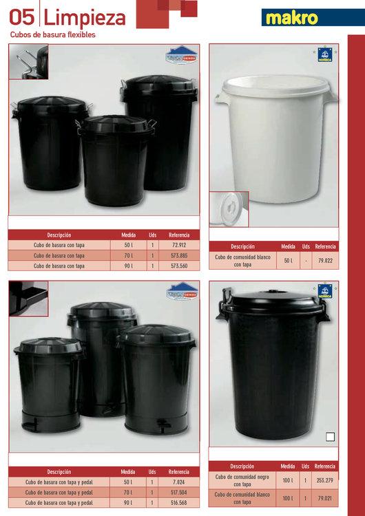 Ofertas de Makro, Plásticos y limpieza