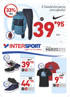 Ofertas de Intersport, Ofertas Marzo