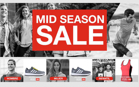 Ofertas de Forum Sport, Mid season sale