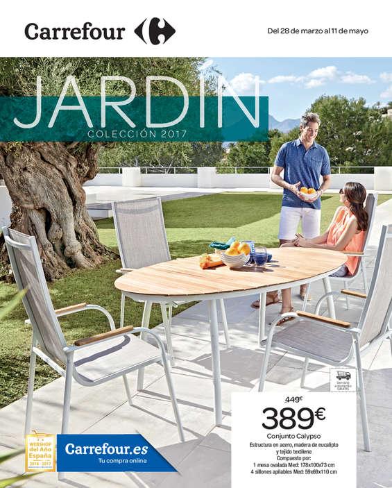 Ofertas de Carrefour, Jardín colección 2017