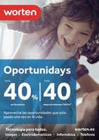 Ofertas de Worten, Oportunidays hasta un 40% de descuento