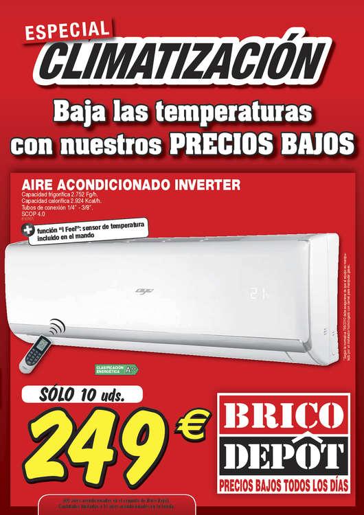 Ofertas de Bricodepot, Especial climatización - Zaragoza
