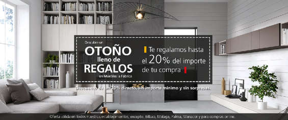 Muebles la f brica ofertas cat logo y folletos ofertia for Muebles boom montigala