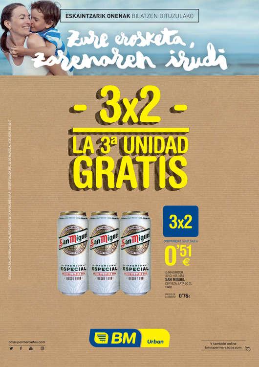 Ofertas de BM Supermercados, 3x2 - La 3ª unidad gratis