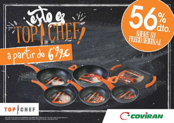 Ofertas de Supermercados Covirán, ¡Esto es Top Chef!