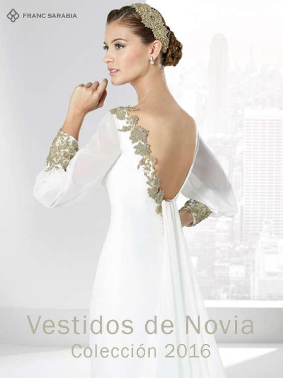 Ofertas de Franc Sarabia, Vestidos de Novias 2016