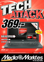 Ofertas de Media Markt, Tech Attack